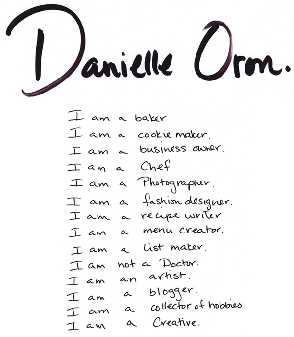 danielle oron the image interview